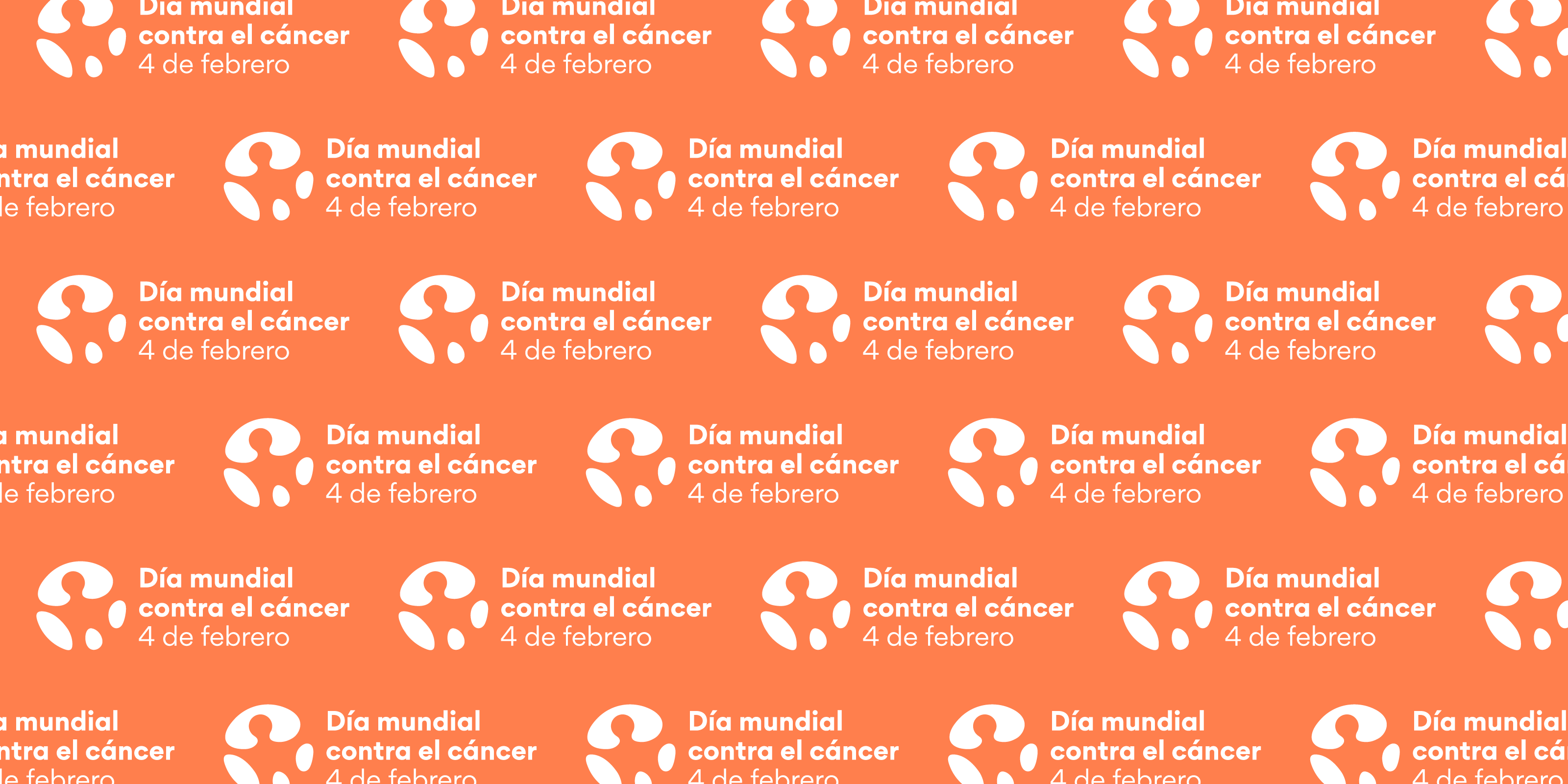 World Cancer Day 2020 LinkedIn Cover Image Spanish