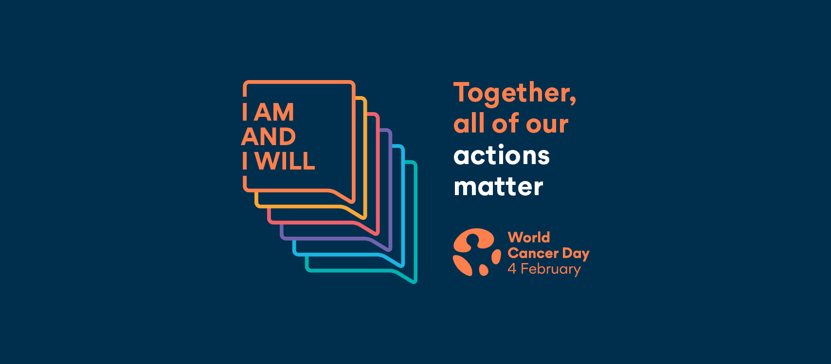World Cancer Day 2021 Facebook Cover English thumbnail